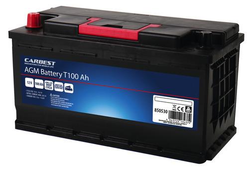 Carbest AGM Batterie 100Ah 353x175x190mm für T5/T6