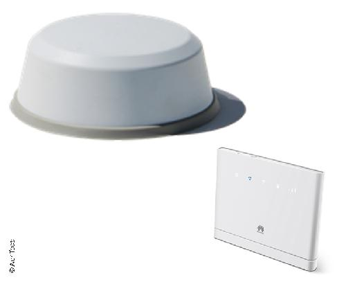 High-Tec Internet-antenne inkl. Router