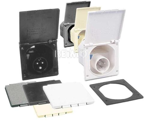 loose CEE input plug cover