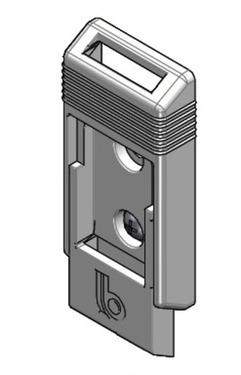 Ersatzteil Dometic Prostor - Halteplatte für Stützfüße