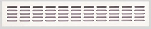Lüftungsgitter 400 x 80 mm (weiß)