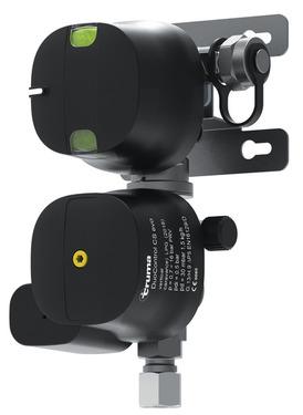 Truma DuoControl CS pystysuora - kahden pullon järjestelmä