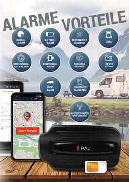 PAJ Power Finder, suivi de véhicule, tracker GPS