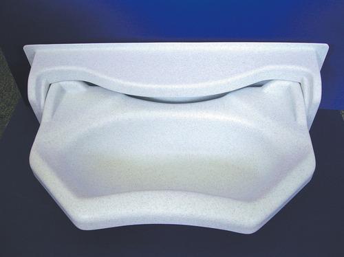 Folding håndvask hvid