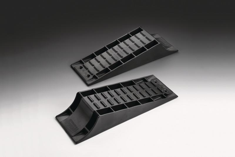 Standard-Ausgleichskeil schwarz, Tragkraft 4t pro Achse