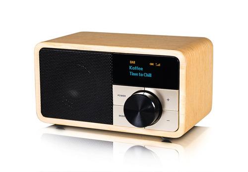 Radio DAB + / FM madera clara