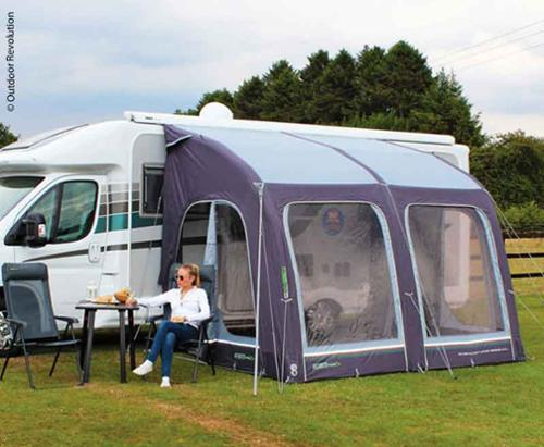 Opblåsbare Caravan Teilzelt E-Sport Air 325 XL