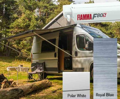 Fiamma F80S tagtelt 3.7m, til varevogne og campister