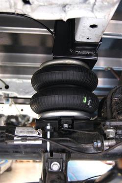 Zusatzluftfedern - 2-Kreis-Basis-Set Fiat Ducato250 /Boxer /Jumper ab Bj.6/06