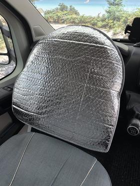 Ochrona termiczna kierownicy, do samochodów, kierownic Ducato + Mercedes