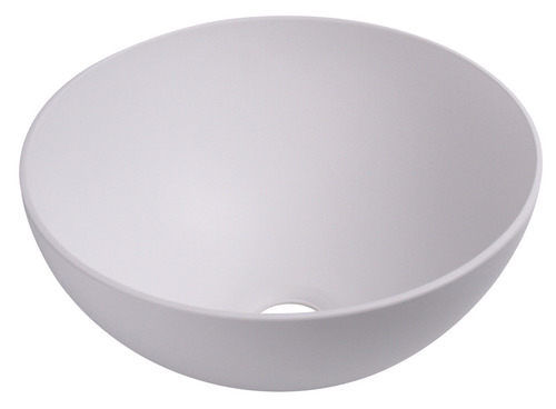 Waschbecken rund weiß, Maß: ø 300 mm, H 135 mm