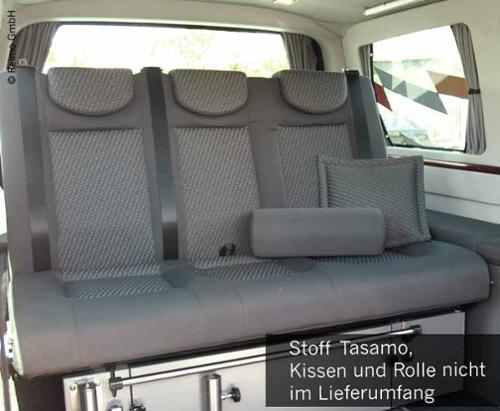 Sleeping bench VW T5 V3100 size 8 rigid 3-seater cushion Tasamo T5  2-coloured