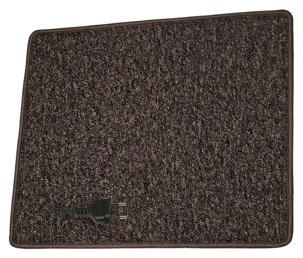 Fűtőszőnyeg 60x70cm,230V/50W, barna