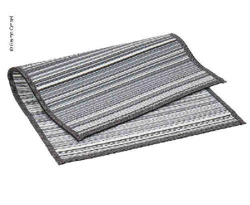 Tapis de store VILLA STRIPE 2,5x6,0m, PP, incl. sac de transport