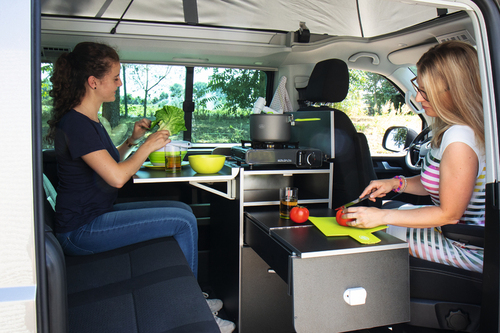 Calicook køkkenmodul for VW T5/T6 California Beach