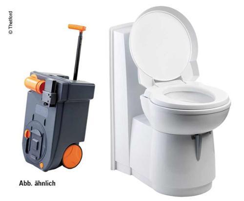 Kassett toilet C 263 S CSL, keramisk hvid, elektrisk