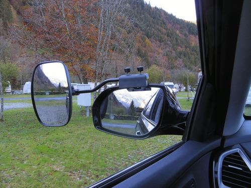 Universalspiegel XL für fast alle KFZ mit einstellbarem Spiegelglas