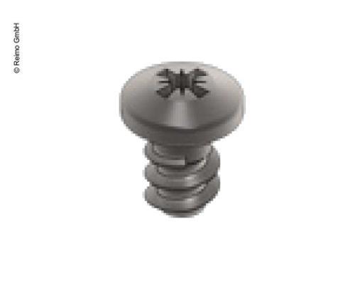 VeryLow Profil Rustfrit stålskrue til panelmontering, 100 stk.