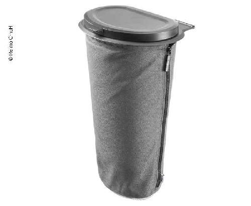 Flextrash vuilnisbak, 5 liter, grijs