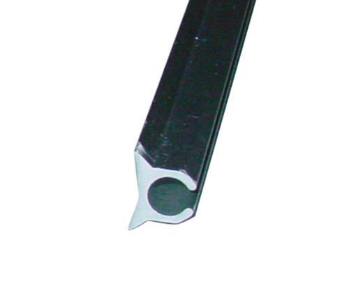 Keder-Profilschiene silber 5 m
