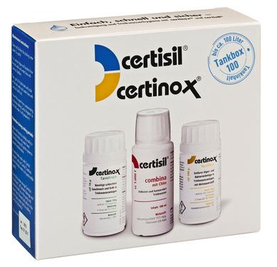 Vízfertőtlenítés Certibox CB 100 készlet