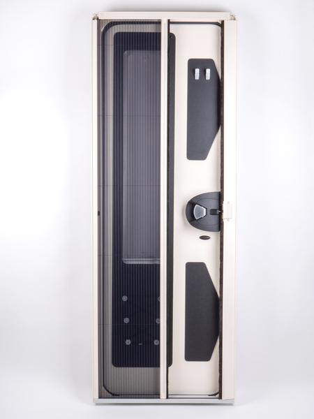 Geplooide vliegwerende deur, passend bij de opbouwdeur 35006