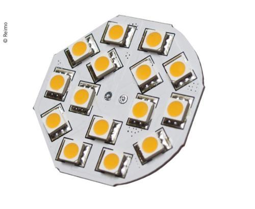 LED G4 Leuchtmittel, 3W, 200 Lumen, 15x warmweiße SMD,