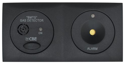 CBE gas detektor BMTG skifer grå, narkose / propangas 12V