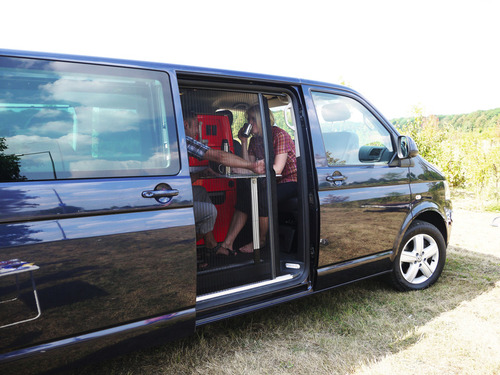 Insect door Volkswagen T5/T6 box + station wagon Startline versions from 2010