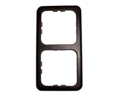 Dubbel frame smal Kleur: bruin (los)