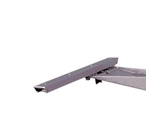 Schiebebeschlag für Tischgestell 57136, 490 mm, 240 mm verschiebbar