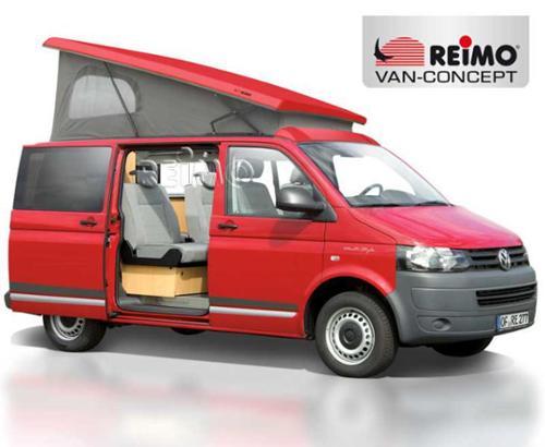 Toit relevable T5 extra plat, toit relevable VW T6, toit relevable arrière