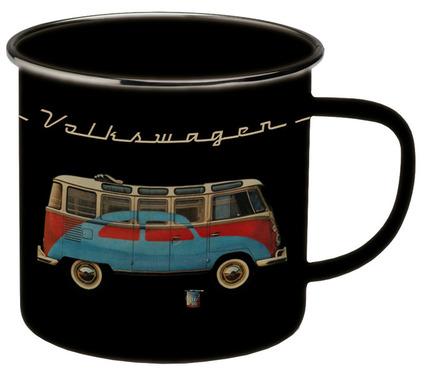 VW Collection Enamel Mukit, musta