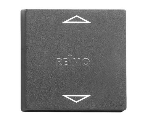 Rocker plate for switch module art.no.821683, slate grey