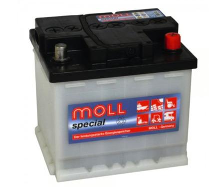 Solar battery 12V /60Ah, Moll special Classic battery