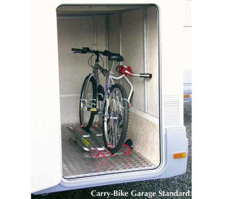 Garage à vélos de série pour 2 roues