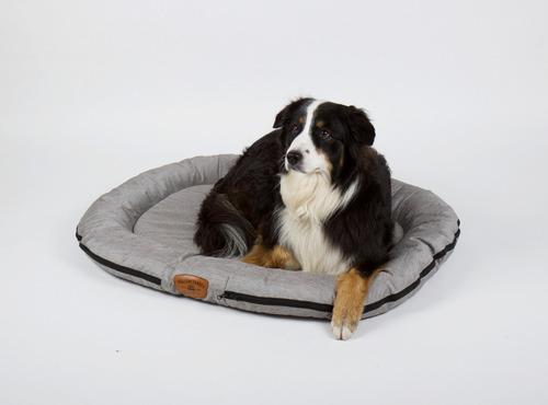 Udendørs hundeseng FERIE REJSE 100x75cm, lynggrå