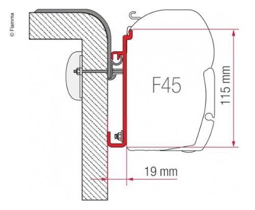Adapter F45 Rapido