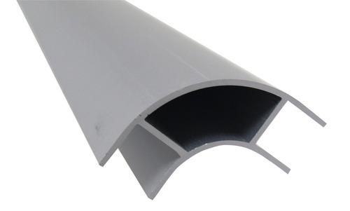 Aluminiumsmøbler hjørne 2,2m, åben på begge sider