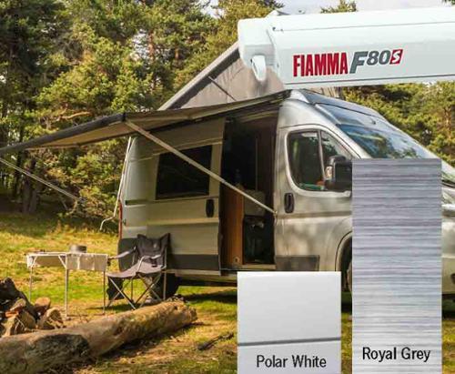Fiamma F80S tagtelt 3,4m, til varevogne og camper