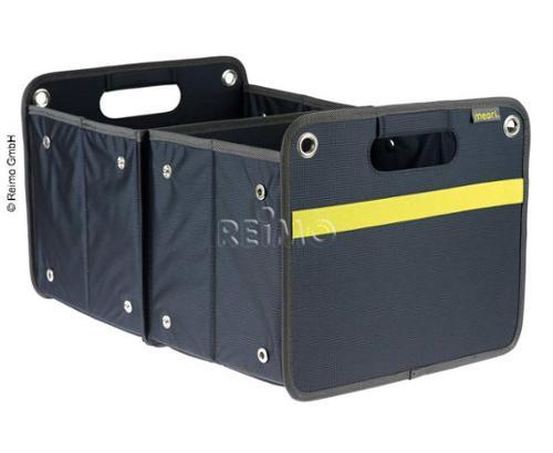 Boîte pliante extérieure, 30l, 32x27,5x50cm, bleu marine