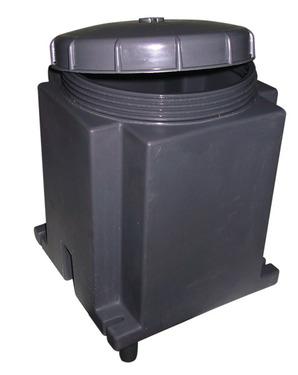Gaskast voor 3 kg cilinders