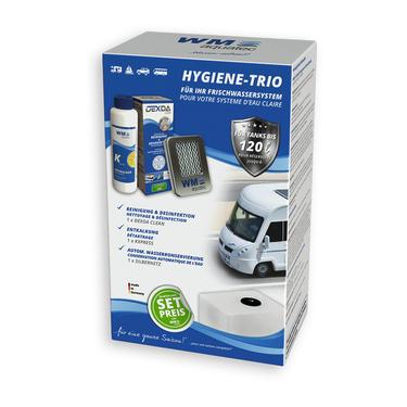 Hygiene Trio Set: 1 x Silbernetz + 1 x KXpress + 1 x Dexda-Clean