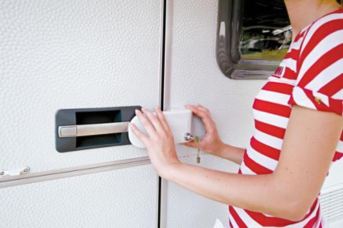 Safe Door Magnum lang Außensicherung
