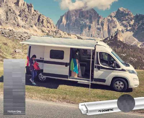 PR 2000 4.00m pull-out kit VW Crafter, MAN TGE, housing: anthracite