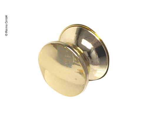 Bouton de rechange Push Lock serrure de meuble or