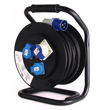 CEE-cable drum H07RN-F3G2, 5mm, 25m