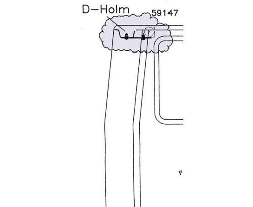 3-puntsgordelaanpassing VW T5 box set 3 D-arm achteraanzicht