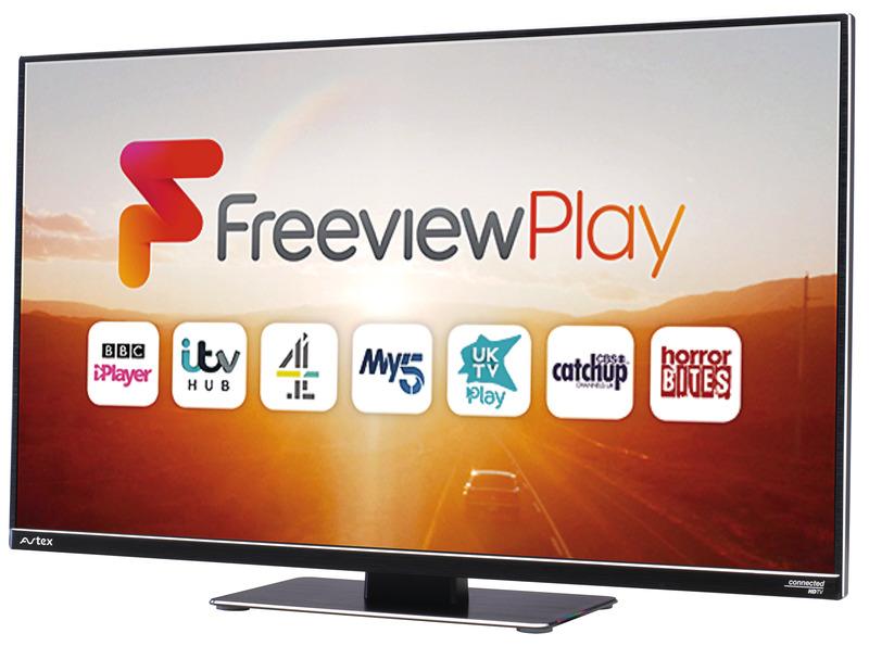 """Televisore 12V Avtex Smart TV 18,5 """"L-199 ES-F -"""
