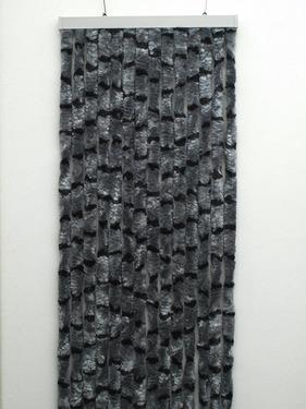 Velcro gardiner 56x205 grå / sort Autocamper u. Campingvogn